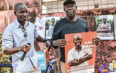 Saudi ta kunsa na cumunidadi – Campanha de Comunicação para a Saúde em Bissau