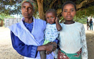 Faça parte da rede de apoio às famílias vulneráveis de Matutuíne, Moçambique!