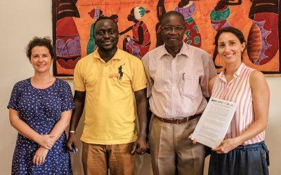 Protocolo assinado para radionovela para a promoção da Saúde Comunitária