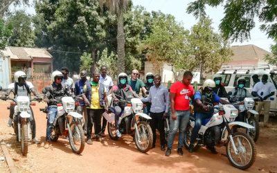 Saúde Comunitária: Entrega de equipamentos às Direções Regionais de Saúde na Guiné-Bissau, após término de projeto