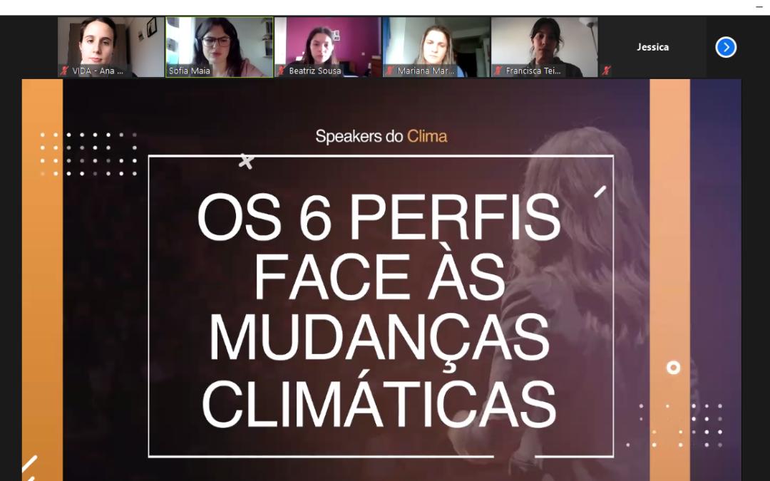 Speakers do Clima – Comunicar para a ação climática